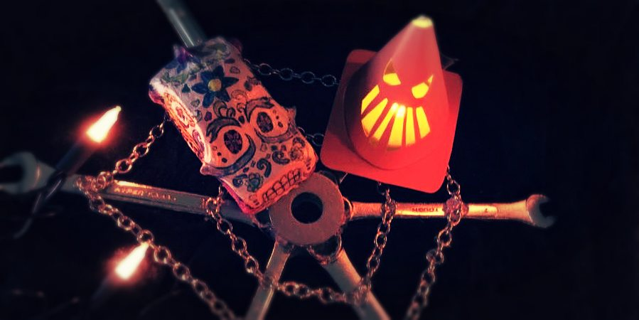 Cars Land Inspired Halloween Decorations From Discount Store Finds